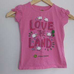 6/$25 🔵John Deere Kids 4T Tshirt